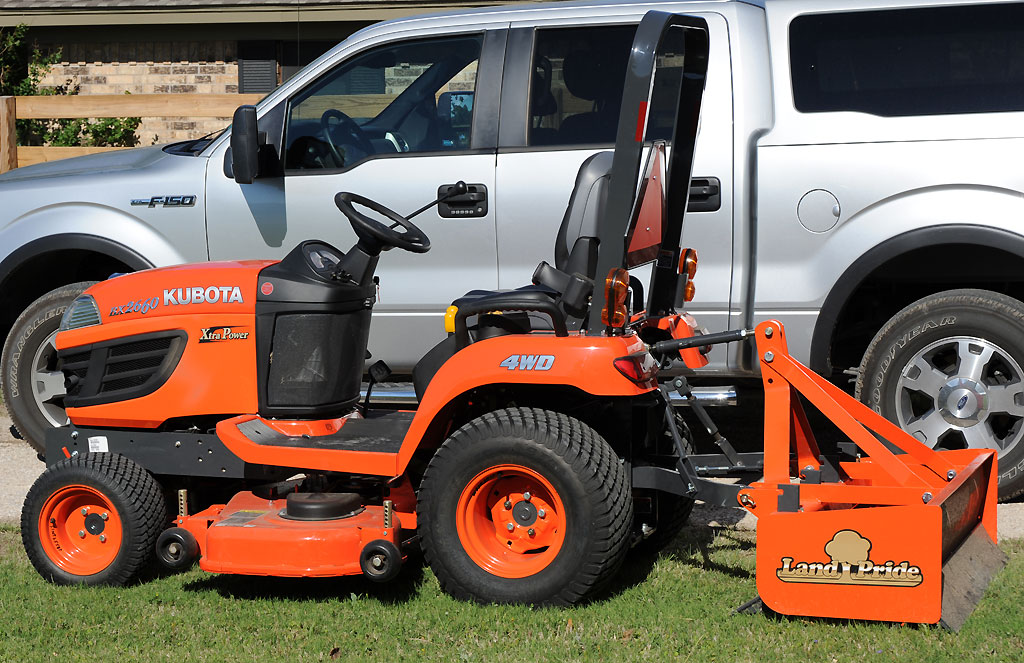 Kubota Bx Tool Box : Pictures of new bx you asked