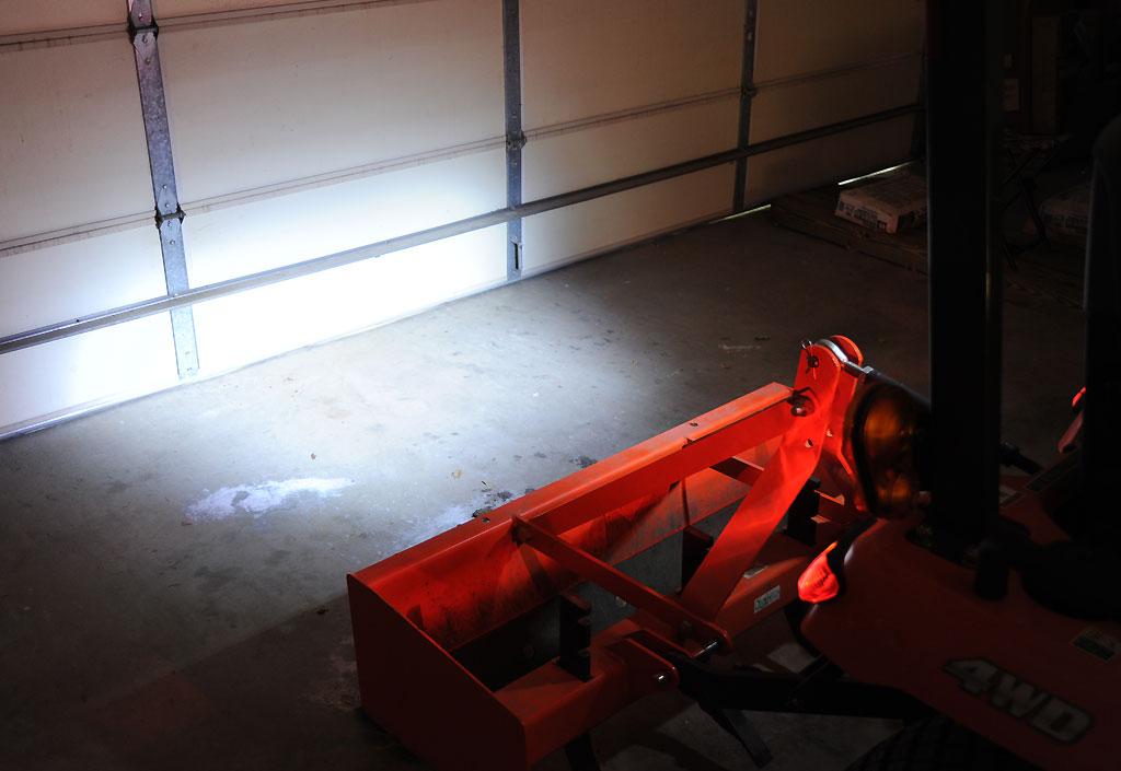 Kubota Rear Work Light : Simple bx rear light install